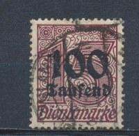 Duitse Rijk/German Empire/Empire Allemand/Deutsche Reich 1923 Mi: DM 92 Yt:  (Gebr/used/obl/o)(1337)