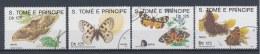 S Tomé En Principe/S Tomé And Principe/S Tomé Et Principe/S Tomé Und Principe 1991 Mi: 1296-1299 (Gebr/used/obl/o)(1342)