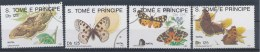 S Tomé En Principe/S Tomé And Principe/S Tomé Et Principe/S Tomé Und Principe 1991 Mi: 1296-1299 (Gebr/used/obl/o)(1343) - Sao Tome En Principe