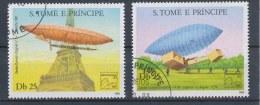S Tomé En Principe/S Tomé And Principe/S Tomé Et Principe/S Tomé Und Principe 1983 Mi: 827A-828A (Gebr/used/obl/o)(1346)