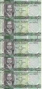 SOUDAN NORTH 1 POUND 2011 UNC P 5 ( 5 Billets ) - Soudan