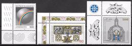 Bund 1995 / MiNr.   1785 , 1786 , 1787  Ecken   ** / MNH   (e637)