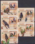 Z31 Comoros - MNH - Animals - Birds - Deluxe - 2009