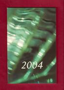 Agenda De Poche Vierge 2004 De Brigitte LE BRETHON, Maire De Caen. - Agende Non Usate