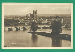 CPA I&LOIRE 13 /185 – TOURS, Vue Générale