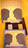 M#0T40 CARTE GIOCO CESARE & CLEOPATRA Wolfgan Ludke Kosmos. Tilsit Edition - Carte Da Gioco