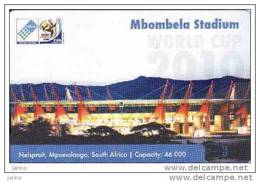 Afrique Du Sud, MTN, FIFA World Cup 2010, Football-soccer Stadium,chip Card - Afrique Du Sud