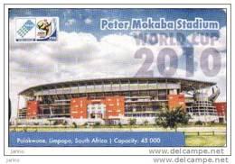 Afrique Du Sud, MTN, FIFA World Cup 2010, Football-soccer Stadium,chip Card - Zuid-Afrika