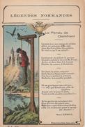 17  / 2 / 392  -  LÉGENDES  NORMANDES    -  LE  PENDU  DE  DOMFRONT - Domfront