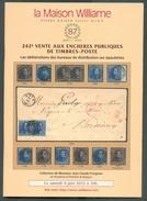 VENTE PUBLIQUE WILLIAME 242, Collection JC PORIGNON, 9 Juin 2012, Bruxelles, 46 Pages.. - Catalogues De Maisons De Vente