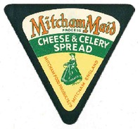 M081 - Etiquettes Fromage - Cheese Label - MITCHAM MAID - Quesos