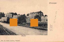 THIMISTER STOCKIS  FABRIQUE DEHESELLE Cachet Postal Thimister Clermont 1904 - Thimister-Clermont