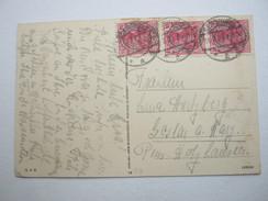 1920 , ALLENSTEIN , Karte Aus  Sensburg