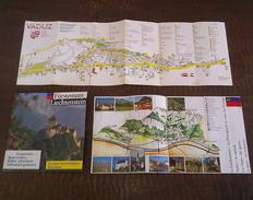 LIECHTENSTEIN TOURISM Traveler BROCHURES LOT - Tourism Brochures