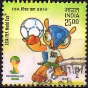 India 2014 1 V   Used FIFA World Cup Football