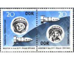 Ref. 158109 * MNH * - GERMAN DEMOCRATIC REPUBLIC. 1963. VOSTOK V AND VOSTOK VI JOINT SPACE FLIGHT . VUELO ESPACIAL EN GR