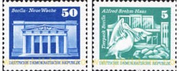 Ref. 150764 * MNH * - GERMAN DEMOCRATIC REPUBLIC. 1974. SOCIALIST CONSTRUCTIONS . CONSTRUCCIONES SOCIALISTAS