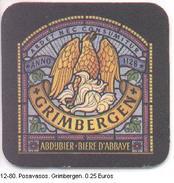 Posavasos. Grimbergen. (ref. 12-80) - Otros