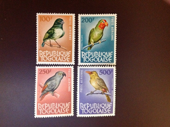 Togo 1964 Birds 4 Top Values MNH Bargain!