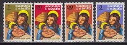 SAMOA : Yvert 237-240 – Christmas 1968 ** MNH