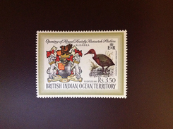British Indian Ocean Territory BIOT 1971 Research Station Birds MNH