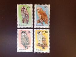 Zimbabwe 1993 Owls 2nd Series Birds MNH