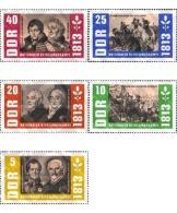 Ref. 150595 * MNH * - GERMAN DEMOCRATIC REPUBLIC. 1963. 150th ANNIVERSARY OF 1813 LIBERATION . 150 ANIVERSARIO DE LA LIB