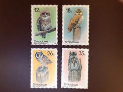 Zimbabwe 1987 Owls 1st Series Birds MNH