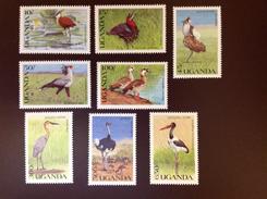Uganda 1990 Wild Birds MNH