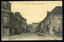 Cpa Du 59  Seclin La Rue Carnot   NCL50 - Seclin
