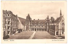 Blois - La Cour Du Château - Edit. CAP - Blois