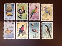 Uganda 1987 Birds MNH