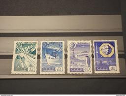 RUSSIA - 1959 GEOFISICO  4 Valori  - NUOVI(++)