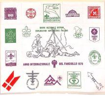MS3578 1979 ITALY SCOUTS Jamboree Sheet