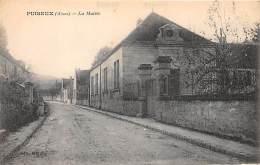 02 - AISNE - PUISEUX - La Mairie