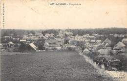 02 - AISNE - MOY DE L' AISNE - Vue Générale - Attelage