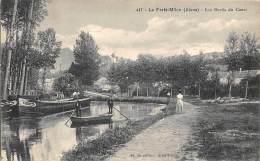 02 - AISNE - LA FERTE MILON - Canal - Barque
