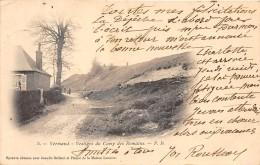02 - AISNE - VERMAND - Vestiges Du Camp Romain - Beau Cliché Précurseur