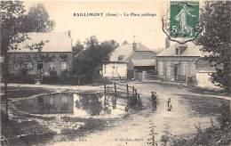 02 - AISNE - RAILLIMONT - La Place Publique