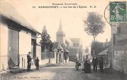 02 - AISNE - HARGICOURT - Rue De L'église - Belle Animation