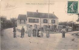 02 - AISNE - TORCY - Routes De Bussiare Et De Licy Clignon