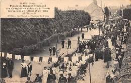 02 - AISNE - BRAINE - Parade Du Bouquet Provincial Des Compagnies D' Arc De La Ronde