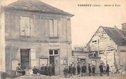 02 - AISNE - VASSENY - Mairie Et école - Animée