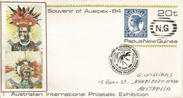 Queensland 2 Pence Papua New Guinea (entier Postal) De PAPOUASIE,adressé En Australie