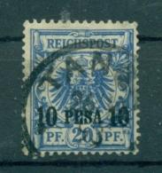 Deutsch-Ostafrika. 10 Pesa Auf Krone/Adler Nr. 4 Gestempelt - Colonie: Afrique Orientale