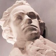 * TERRE-CUITE BEETHOVEN # Musicien Musique Statue Sculpture - Autres