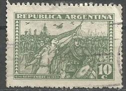 Argentina - 1930 Victorious Insurgents 10c Used   Sc 380 - Argentina