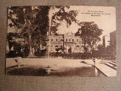 Carte Postale Ancienne Liban Le Vieux Serail Et Le Bassin De La Place Des Canons Beyrouth