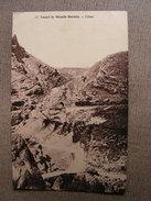 Carte Postale Ancienne Liban Tunnel De Wadih Barada Train