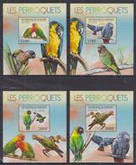 A32 Burundi - MNH - Animals - Birds - Deluxe - 2012
